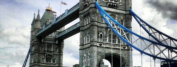 Tower Bridge is one of London City Badge - London Calling.