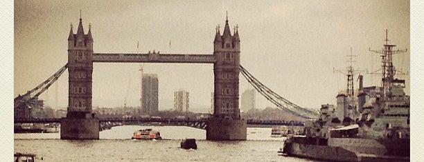 Tower Bridge is one of Steampunk London.