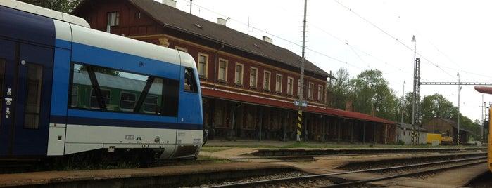 Železniční stanice Horní Cerekev is one of Železniční stanice ČR: H (3/14).
