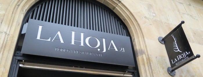 La Hoja 21 is one of Must-visit Nightlife Spots in Salamanca.