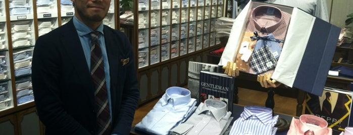 Kamakura Shirts New York is one of New York: Shop.