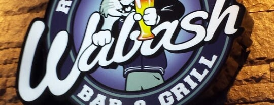 Wabash Bar & Grill is one of Aggieville Bars.
