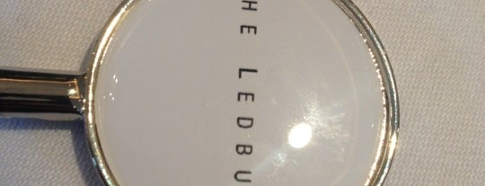 The Ledbury is one of Gourmet.