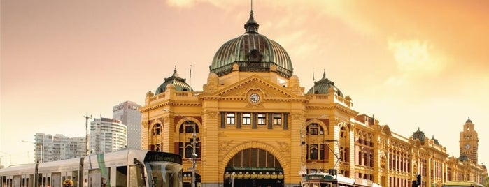 Flinders Street Station is one of Guide to Melbourne's Best Spots.
