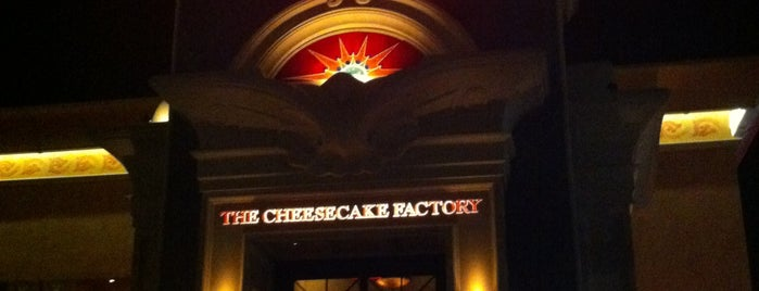 The Cheesecake Factory is one of Favorite Restaurants.