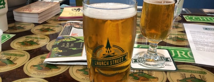 Church Street Brewing Company is one of Because Beer..