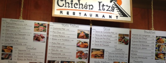 Chichen Itza Restaurant is one of Triple D Checklist.