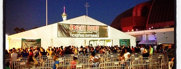 Fright Dome is one of Check-In.