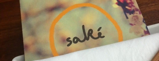 Saké Restaurant and Bar is one of The Fine Food of Melbourne City.
