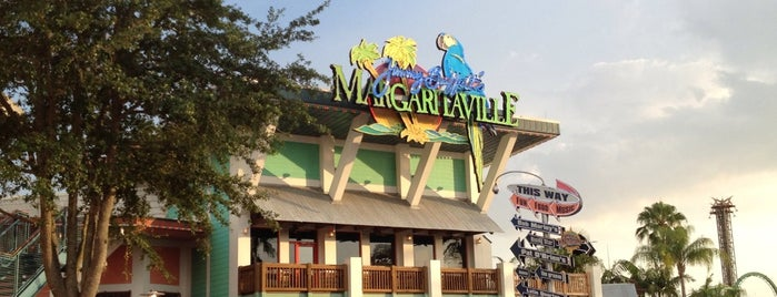 Margaritaville is one of Orlando's must visit!.