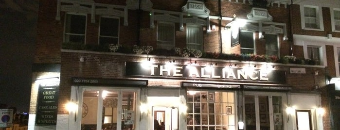 The Alliance is one of Best London Pubs.