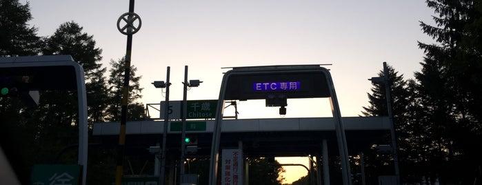 千歳IC is one of 道央自動車道.