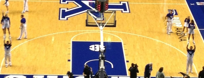 Rupp Arena is one of College Basketball Venues.