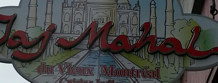 Taj Mahal Vieux-Port is one of Montreal City Guide.
