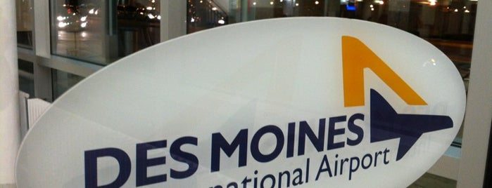 Des Moines International Airport (DSM) is one of Airports been to.