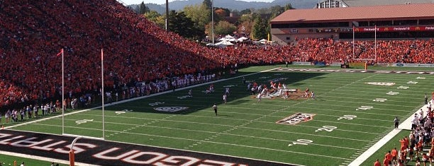 Reser Stadium is one of Pac-12 Football Stadiums.