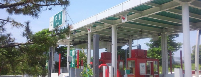 伊達IC is one of 道央自動車道.