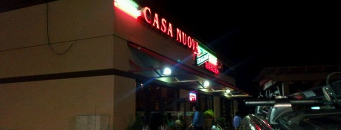 Casa Nuova Italian Restaurant is one of North Ga chill spots.