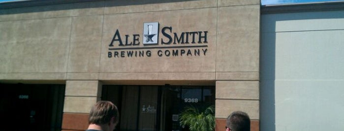 AleSmith Brewing Company is one of Local breweries.