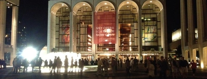 Lincoln Center Plaza (Josie Robertson Plaza) is one of Free Concert Venues.