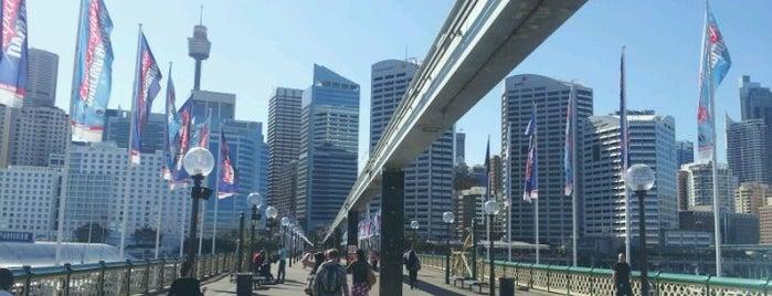 Pyrmont Bridge is one of Essential Sydney.