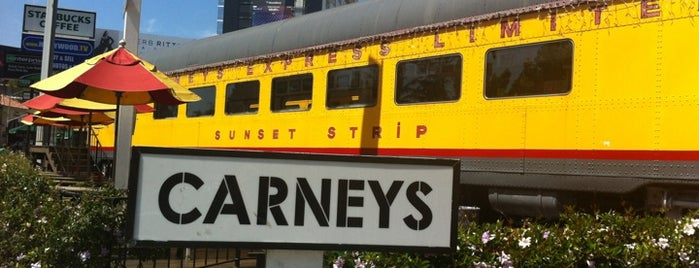 Carney's is one of Before you leave LA, you must....