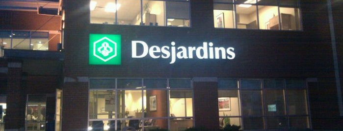 Desjardins is one of Longueuil #4sqCities.