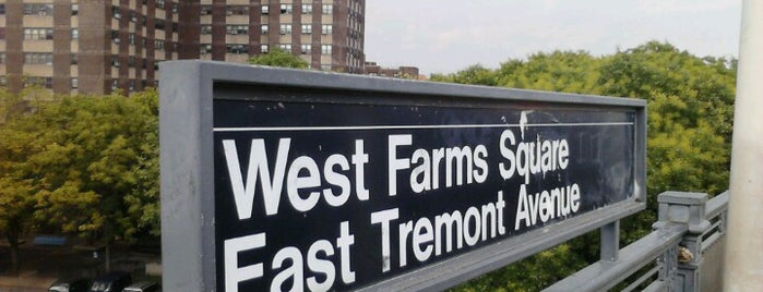 MTA Subway - West Farms Square/E Tremont Av (2/5) is one of national grafhic.