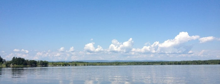 Saratoga Lake is one of NY Greater Outdoor & Swimies.