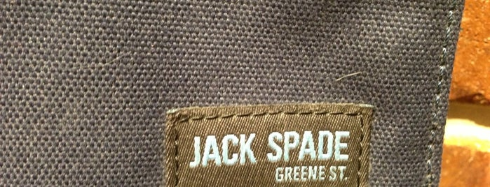 Jack Spade is one of Must-visit Clothing Stores in Boston.