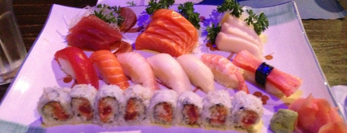 Yummy Sushi is one of Places to try.