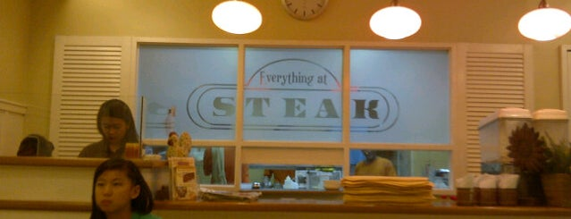 Everything at Steak is one of Guide to San Juan.