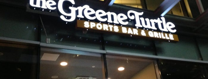 The Greene Turtle is one of Local Redskins Rally Bars.