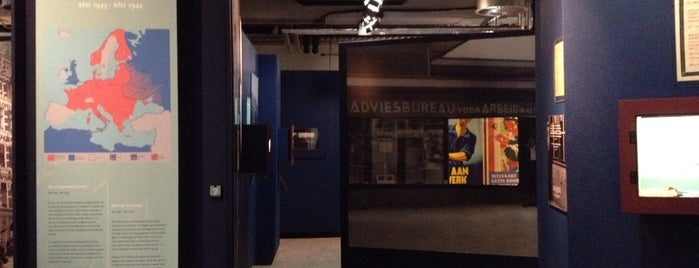 Dutch Resistance Museum is one of Must-visit Musea Amsterdam.