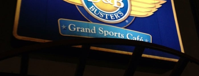 Dave & Buster's is one of my hangouts.