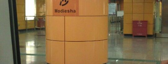 地铁磨碟沙站 - Modiesha Metro Station is one of 廣州 Guangzhou - Metro Stations.
