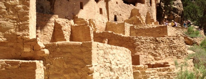Mesa Verde National Park is one of U.S. National Parks.