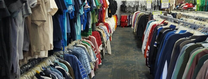 Goodwill is one of Peninsula Thrift Stores.