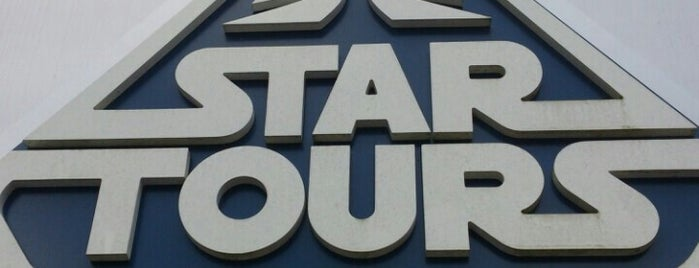 Star Tours is one of Disney Rides.