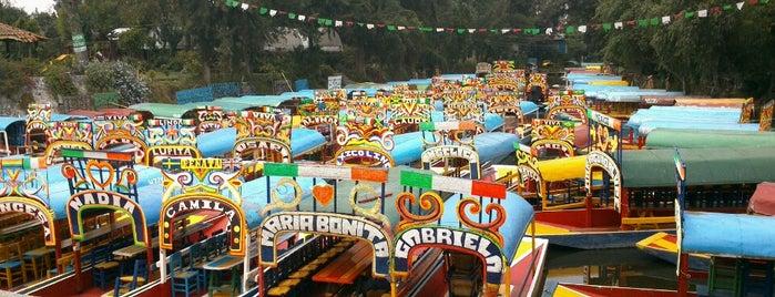 Xochimilco is one of Lugares para robar corazones.