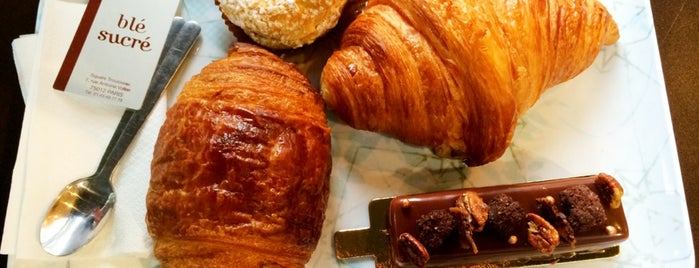 Blé Sucré is one of Pastries, Bread and Cheese in Paris.