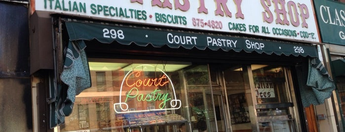 Court Pastry Shop is one of NYC Sweets.