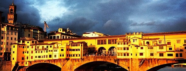 Ponte Vecchio is one of Favorite Places Around the World.