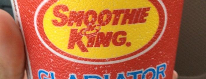 Smoothie King is one of BLee's Favorite Food.