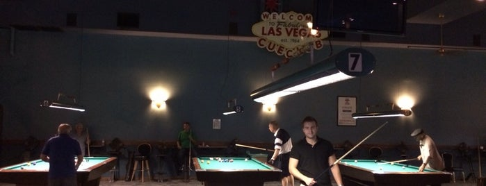 Las Vegas Cue Club is one of A local's guide: 48 hours in Las Vegas, NV.