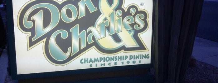 Don & Charlie's is one of Lettuce Entertain You Restaurants.