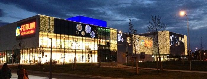 Forum Nová Karolina is one of Obchodní - nákupní centra v Ostravě.