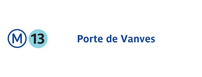 Métro Porte de Vanves [13] is one of 2visit in Paris.