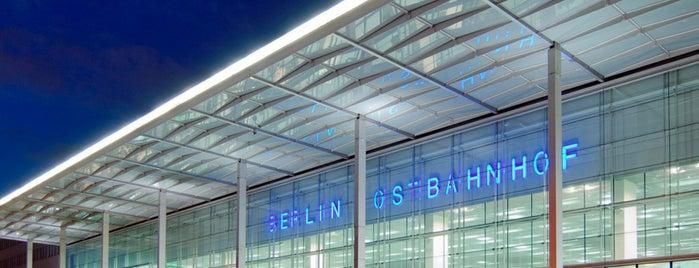 Berlin Ostbahnhof is one of Ausgewählte Bahnhöfe.