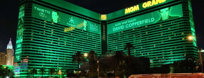 MGM Grand Hotel & Casino is one of History of Tupac on Foursquare.